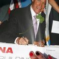 Schwarzenegger lóheréje egy szlovák maratonon