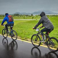 A Balatonnál vagy a Bükkben bringázol a hétvégén?