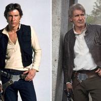 Szórakoztató fotósorozat: A Star Wars hősei és rosszfiúi akkor és most