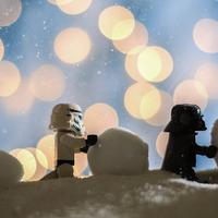 Zseniális fotók: karácsony egy messzi-messzi galaxisban