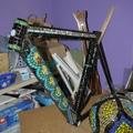 Elkészült a bringa mozaik borítása
