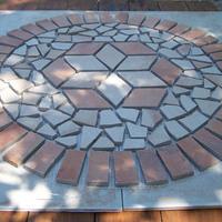 Mozaik padló betét