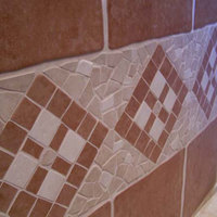 Csempe mozaik