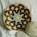Mozaikos kiwi tál :)