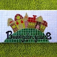 Elkészült a mesés mozaik házszám - utcanév tábla  :)