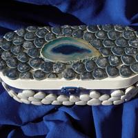Sárkányszem mozaik ékszerdoboz
