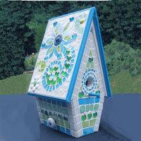 Tündéri vidám mozaikos madárház