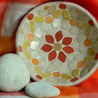 Mozaikos mediterrán terra kínáló