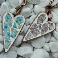 Első rusztikus mozaikvilág ékszer próbadarabok