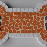 Mozaik tappancs és csontalakú fogas