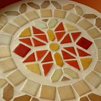 Mediterrán mozaik tál - a tálca tesója lehet :)