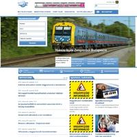 Megújult a MÁV-Csoport honlapja