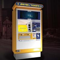AQUIS TicketEZ928 automatákat telepít a MÁV-Start