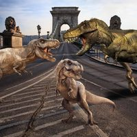 Jövőre Budapestet is letarolnák a dinoszauruszok