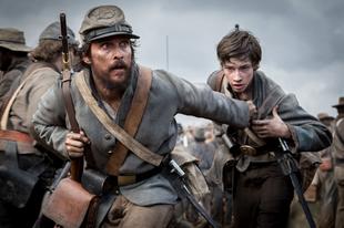 Rabszolgákkal harcol a szabadságért Matthew McConaughey