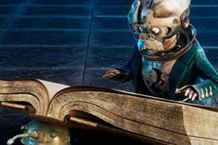 Steampunk minyonok az Alice Tükörországban filmben