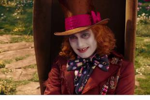 Kikerült egy részlet az Alice Tükörországban filmből