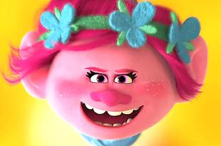 Túltolták a neonszíneket a Trolls animációs filmben