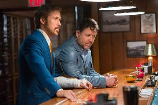 Visszarepült az időben Ryan Gosling és Russel Crowe