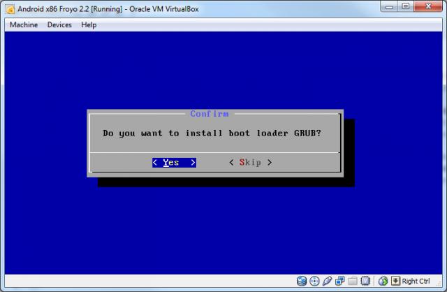 Install GRUB
