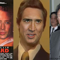 Nic Cage as everyone!