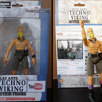 Techno Viking Akciófigura!