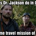 Stargate meets Oblivion