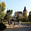 Városliget or City Park is a popular green area of Budapest
