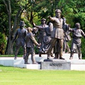 Hogyan került a Kossuth térről a Kossuth-szoborcsoport az Orczy-kertbe?