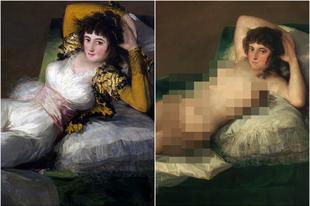 Goya és Alba hercegnője – egy meztelen festmény története
