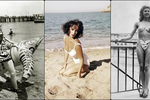 Hogyan festettek a 20. század ikonikus alakjai fürdőruhában?