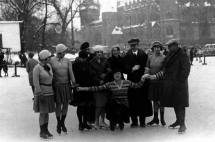 Skating season has arrived! Here's 100 years of skating fashion in the City Park Ice Rink