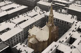 Budapest titkos temploma csak a levegőből látható