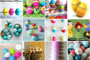 25 kreatív húsvéti tojás, amely mágnesként vonzza a tekintetet