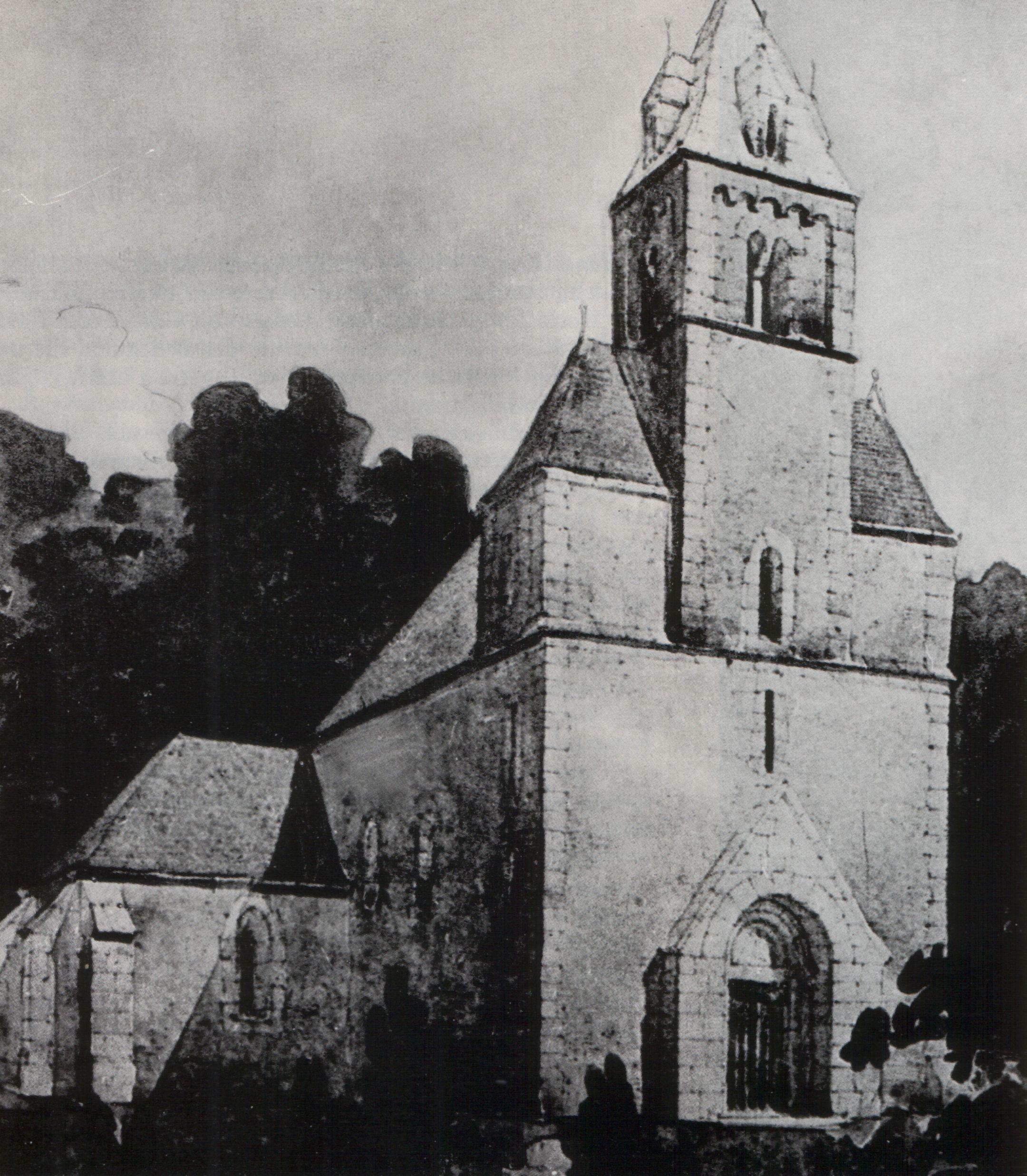 A templom rekonstrukcióját Lux Kálmán építőművész tervezte meg.