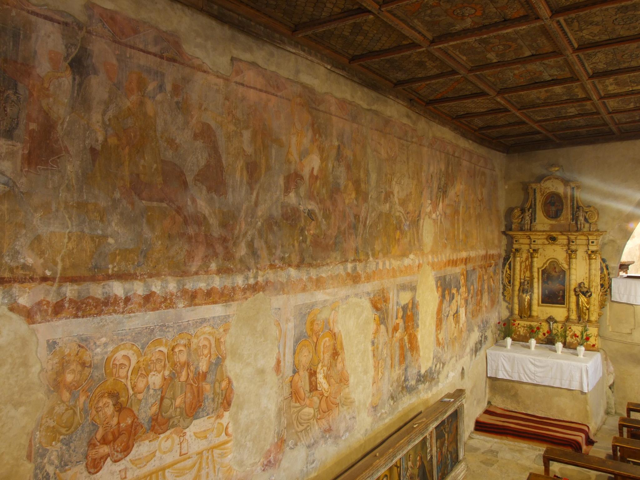 Erdély legrégebbi freskói.