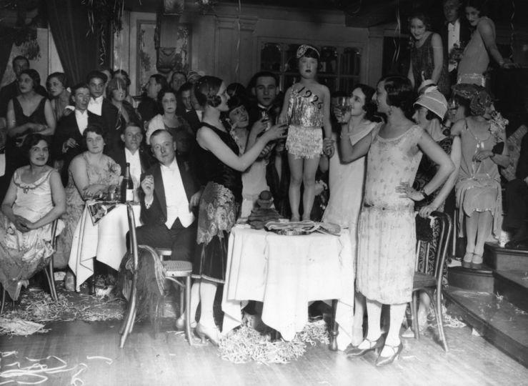 1926. Egy kislány, mint az új 1926-os év.