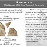 Alföldy Géza epigráfiai előadása Budapesten