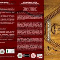 Konferencia: Romania Gothica