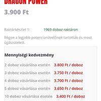 Mennyiségi kedvezmény. Dragon power potencianövelő esetén is. #mrpotencia #potencianovelo #potencianoveles #maleenhancer #maleenhancement #sex #sexpills #sexcaps #ferfiaknak #top10potencianovelo #vásárlás #rendelés #rendeles #vasarlas #webshop #webshopping #dragonpowerpotencianovelo #dragon #dragonpower https://www.mrpotencia.hu/dragon-power