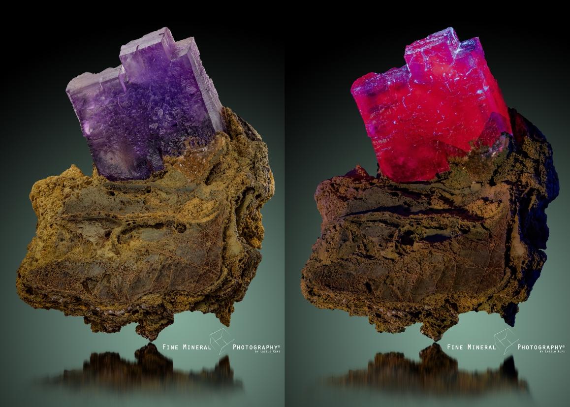 A sötétben is sokszínű fluorit, avagy színek az ibolyán messze túlmenően