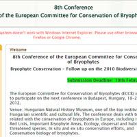 8. Európai Mohavédelmi Konferencia a Magyar Természettudományi Múzeumban