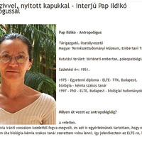 Bárány Annamária: Nyitott szívvel, nyitott kapukkal – Interjú Pap Ildikó antropológussal