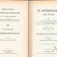 Az anthropológia kézi könyve