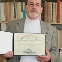 Dr. Vörös Attila akadémikus kapta az idei Hantken Miksa Emlékérmet