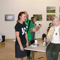 Jane Goodall, angol etológus, antropológus és primatológus a Magyar Természettudományi Múzeumban