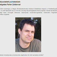 2011 augusztusában Fehér Zoltán lett a hónap kutatója