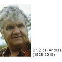 Zicsi András emlékülés 2015. december 2-án
