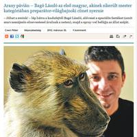 Bagó László preparátor világbajnok lett