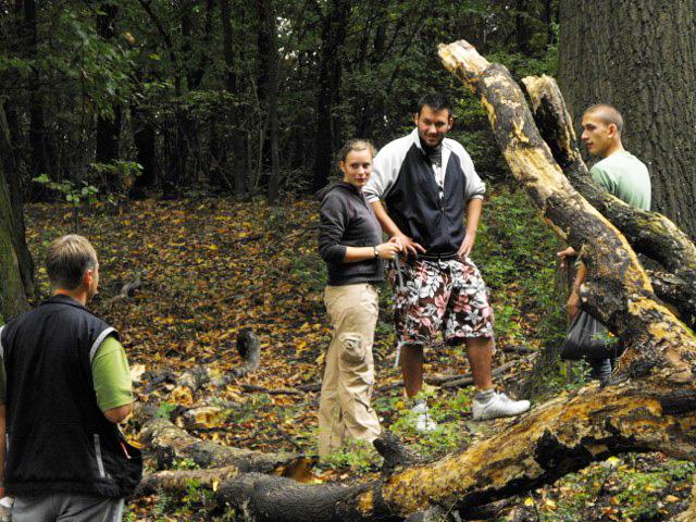 Rovartani kirándulás a Fekete-hegyre a 2009-ben szervezett középiskolás szakkörön